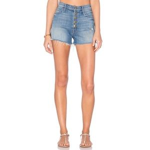 Mother Swooner Snap Down Shorts Shake Well Size 26